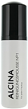 Fragrances, Perfumes, Cosmetics Cleansing Foam for Face - Alcina №1 Cleansing Mousse