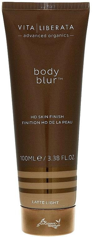 Body Tinted Cream - Vita Liberata Body Blur HD Skin Finish — photo N2