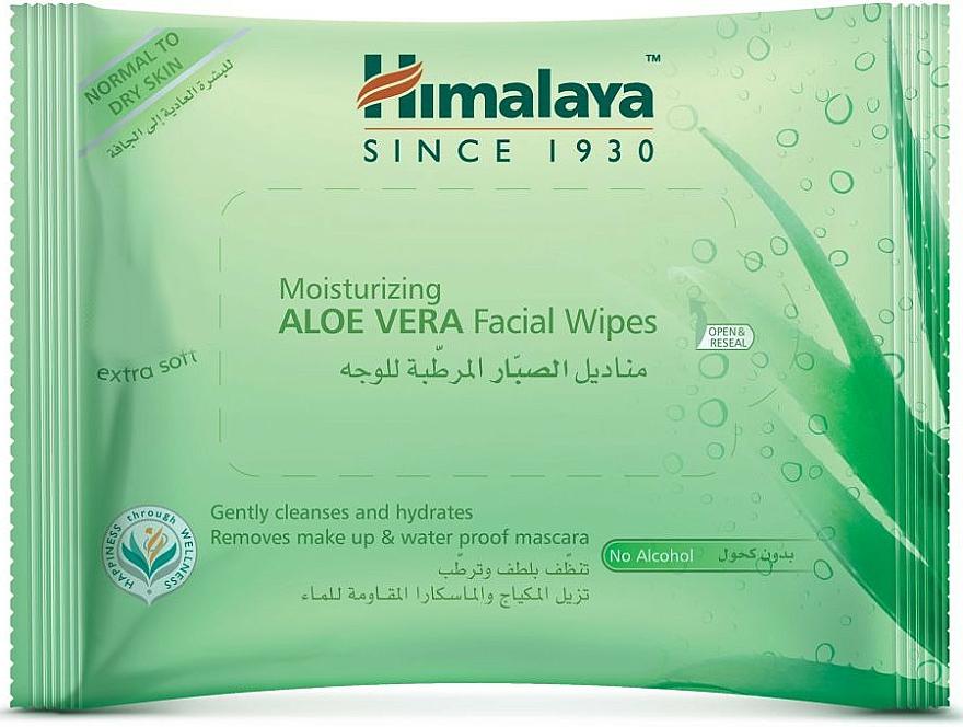 Moisturizing Aloe Vera Face Wipes - Himalaya Moisturizing Aloe Vera Facial Wipes