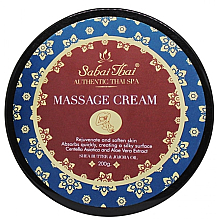 Fragrances, Perfumes, Cosmetics Massage Centella Extract & Aloe Vera Cream - Sabai Thai Jasmine Aroma Massage Cream