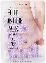 Fragrances, Perfumes, Cosmetics Moisturizing Foot Care-Mask - Kocostar Foot Moisture Pack Purple
