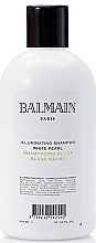 Fragrances, Perfumes, Cosmetics Iluminating Shampoo for Blondes - Balmain Paris Hair Couture Illuminating White Pearl Shampoo