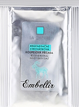 Fragrances, Perfumes, Cosmetics Regenerating Bath Serum - La Chevre Embellir Regenerative Whey Bath Additive