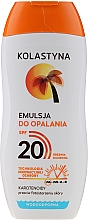 Fragrances, Perfumes, Cosmetics Waterproof Tan Emulsion - Kolastyna Suncare Emulsion SPF20