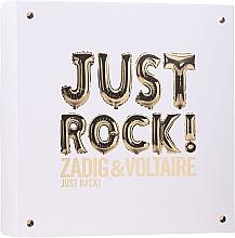 Zadig & Voltaire Just Rock - Set (edp/50ml + b/lot/50ml/sh/gel/50ml) — photo N1