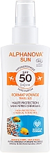 Fragrances, Perfumes, Cosmetics Sunscreen Spray - Alphanova Sun Bio SPF50 Spray Voyage