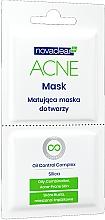 Fragrances, Perfumes, Cosmetics Matte Face Mask - Novaclear Acne Mask Oil Control Complex
