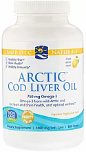 """Fragrances, Perfumes, Cosmetics Dietary Supplement with Orange Taste 750 mg """"Omega-3"""" - Nordic Naturals Cod Liver Oil"""