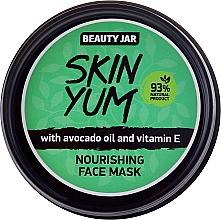 Fragrances, Perfumes, Cosmetics Nourishing Face Mask - Beauty Jar Skin Yum Nourishing Face Mask