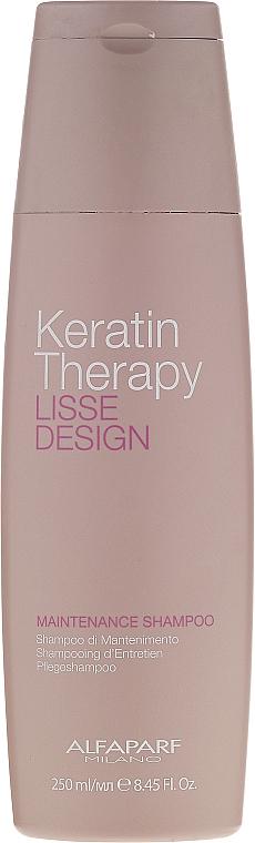 Keratin Shampoo - Alfaparf Lisse Design Keratin Therapy Maintenance Shampoo