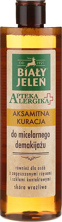 Velvet Makeup Remover - Bialy Jelen Apteka Alergika