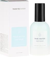 Fragrances, Perfumes, Cosmetics Deep Moisturizing Wrinkle Serum - Thank You Farmer True Water Deep Serum