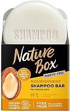 Fragrances, Perfumes, Cosmetics Nourishing Argan Oil Solid Shampoo - Nature Box Nourishment Vegan Shampoo Bar With Cold Pressed Argan Oil