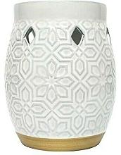Fragrances, Perfumes, Cosmetics Aroma Lamp - Yankee Candle Wax Burner Addison Patterned Ceramic