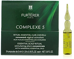 Fragrances, Perfumes, Cosmetics Wellness Scalp Complex - Rene Furterer Complexe 5 Essential Scalp Ritual Stimulating Plant Concentrate With Warming Esential Oils