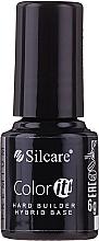 Fragrances, Perfumes, Cosmetics Gel Polish Camouflage Base Coat - Silcare Color It Premium Hardi Builder Hybrid Base