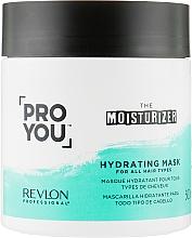Fragrances, Perfumes, Cosmetics Moisturizing Hair Mask - Revlon Professional Pro You Hydrating Mask
