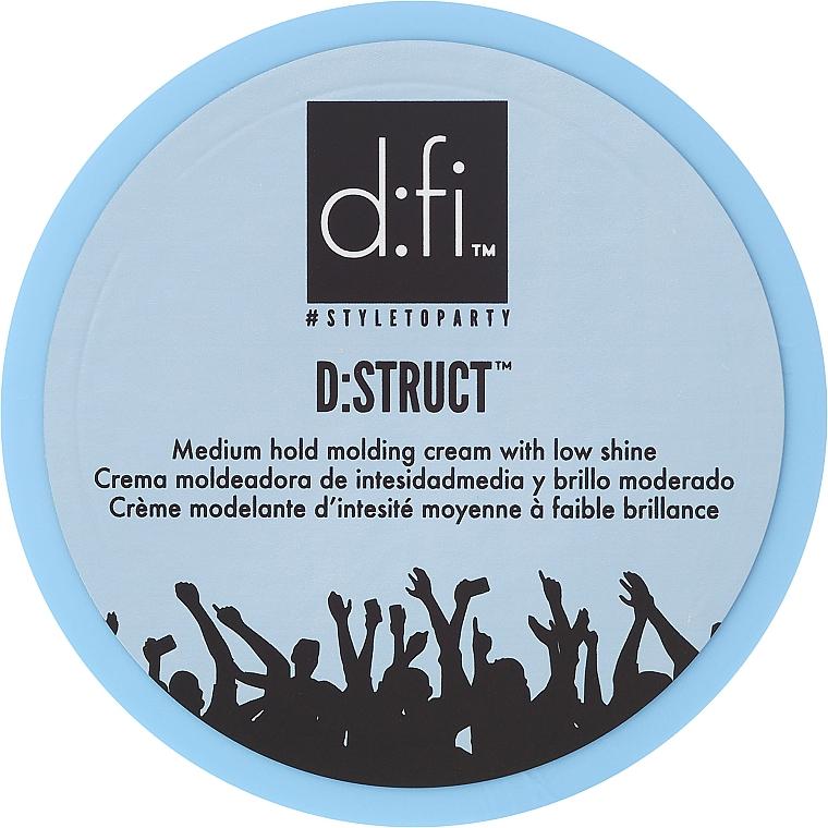 Hair Styling Cream - D:fi D:struct Medium Hold Molding Cream