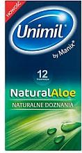 Fragrances, Perfumes, Cosmetics Condoms, 12 pcs - Unimil Natural Aloe