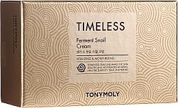 "Fragrances, Perfumes, Cosmetics Set ""Face Cream & Eye Cream with Snail Extract"" - Tony Moly Timeless Ferment Snail Cream And Timeless Ferment Snail Eye Anti-wrinkle & Whitening & Moisturizing"