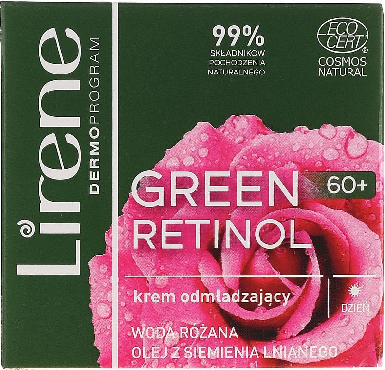 Day Cream for Face - Lirene Green Retinol Day Cream