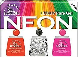Fragrances, Perfumes, Cosmetics Set - IBD Just Gel Polish Neon Kit (gel/polish/3*14ml)