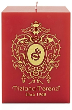Tiziana Terenzi Spicy Snow - Perfumed Candle, red with gold — photo N2