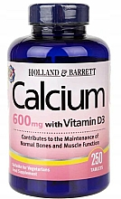 "Fragrances, Perfumes, Cosmetics Dietary Supplement ""Vitamin D3"" - Holland & Barrett Calcium plus Vitamin D3 600mg"