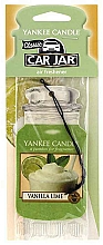 Fragrances, Perfumes, Cosmetics Car Air Freshener - Yankee Candle Car Jar Vanilla Lime