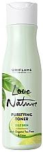 Fragrances, Perfumes, Cosmetics Purifying Facial Toner - Oriflame Love Nature Purifying Toner With Organic Tea Tree&Lime