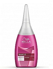 Fragrances, Perfumes, Cosmetics Perm Lotion for Colored Hair - Wella Professionals Wave It Mild Emulsion 1