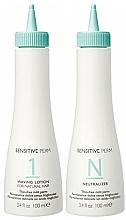 Fragrances, Perfumes, Cosmetics Set - No Inhibition Sensitive Perm (lot/100ml + neutralizer/100ml)