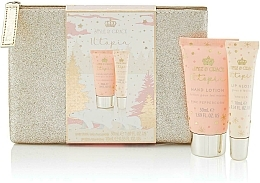 Fragrances, Perfumes, Cosmetics Set - Style & Grace Utopia Glitter Bag Set (h/lot/50ml + lip gloss/10ml + bag)