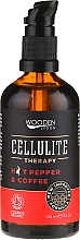 Fragrances, Perfumes, Cosmetics Anti-Cellulite Body Oil - Wooden Spoon Anti-cellulite Blend