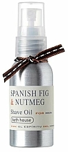 Fragrances, Perfumes, Cosmetics Bath House Spanish Fig and Nutmeg - Shaving Oil
