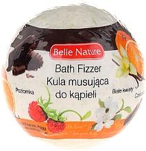 Fragrances, Perfumes, Cosmetics Fizzy Bath Bomb, green - Belle Nature