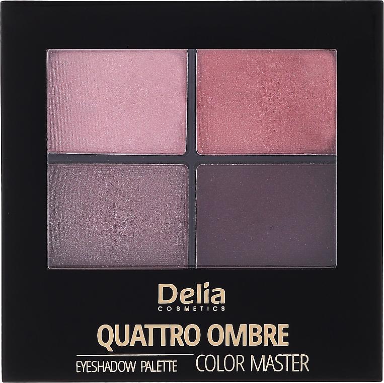 Eyeshadow - Delia Quattro Ombre Color Master