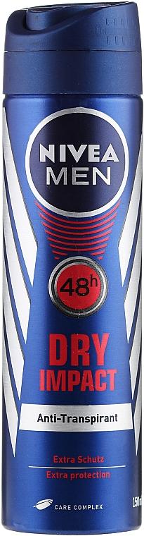 Deodorant-Spray - Nivea Men Dry Impact Deo Spray