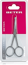 Fragrances, Perfumes, Cosmetics Curved Manicure Nail Scissors, stain steel - Beter Beauty Care