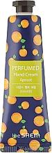 "Fragrances, Perfumes, Cosmetics Perfumed Hand Cream ""Apricot"" - The Saem Perfumed Apricot Hand Cream"