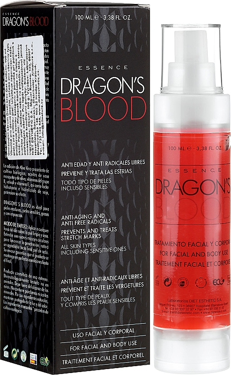 Face & Body Essence - Diet Esthetic Dragon Blood Essence