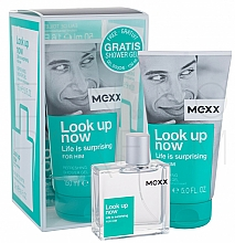 Fragrances, Perfumes, Cosmetics Mexx Look Up Now for Him - Set (edt 50ml + sh/gel 150ml)