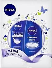 Fragrances, Perfumes, Cosmetics Set - Nivea Gift Set (sh/cr/250ml+b/milk/250ml)