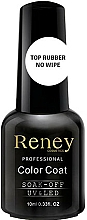 Fragrances, Perfumes, Cosmetics Gel Polish Top Coat - Reney Cosmetics Top Rubber No Wipe