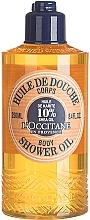 "Fragrances, Perfumes, Cosmetics Shower Oil ""Shea"" - L'occitane Shea Oil Body Shower Oil"