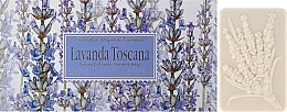 "Fragrances, Perfumes, Cosmetics Toilet Soap Set ""Tuscan Lavender"" - Saponificio Artigianale Fiorentino Lavender Toscana"
