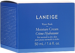 Fragrances, Perfumes, Cosmetics Normal and Dry Skin Moisturizing Face Cream - Laneige Water Bank Moisture Cream