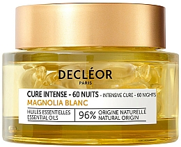 Fragrances, Perfumes, Cosmetics Face Capsules - Decleor Mature Skin Intensive Cure 60 Nights White Magnolia