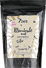 Fragrances, Perfumes, Cosmetics Coffee Shimmering Body Scrub - 7 Days Illuminate Me Miss Crazy Coffee Shimmering Body Scrub