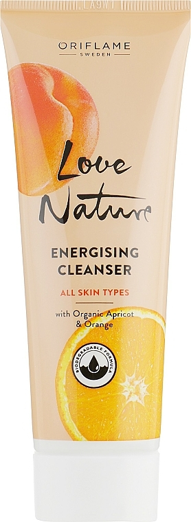 """Facial Cleanser """"Apricot and Orange"""" - Oriflame Love Nature Energising Cleanser"""
